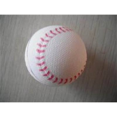 PU foam baseball toy/High elasticity coloful PU practice Balls/plastic ball/hollow plastic toys ball