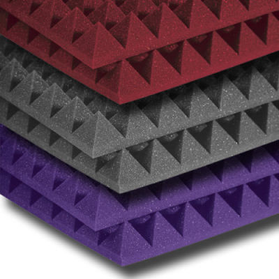 Colored Pyramid Studio Sound-absorbing foam/home-use absorption foam sponge/noise cancelling foam/sound absorbing sponge