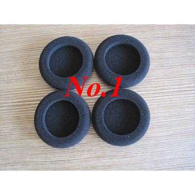 Noise reduction foam sponge ear plugs/earphone sponge cover/ear cap plug