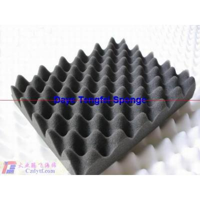 sound absorbing materials/sound shield acoustic foam panel/decorative sound absorbing wall panels