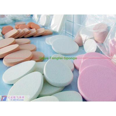 soft facial sponge/cosmetic sponge/make up sponge/compressed facial cleansing sponges