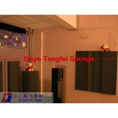 sound absorbing materials/noise reduction foam sponge/noise insulation sponge foam