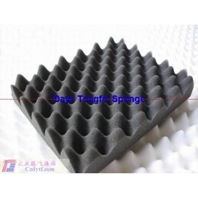 Homemade sound absorbing panels/high density sound absorbing foam