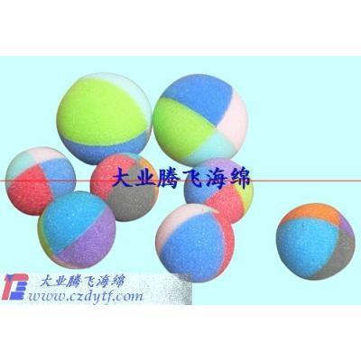 various sponge balls/concrete sponge ball/rubber sponge ball