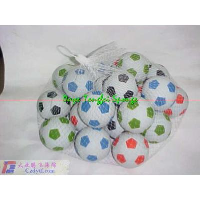 PU sponge volleyball/colorful volleyball/soft rubber ball/silicone rubber ball