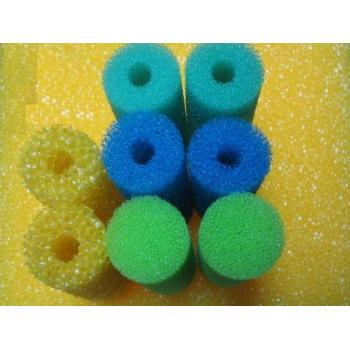 barrel filtration sponge/water purification filter sponge/mesh sponge filter