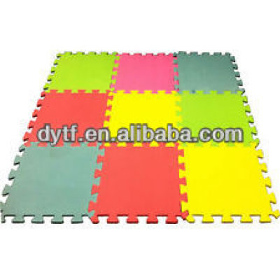 EVA Gym Mat/eva foam insulation mat/compressed cellulose sponge