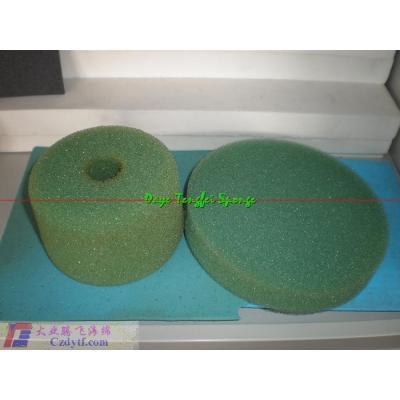 Water purification foam/membrane filtration/aperture breathable foam/custom molded foam