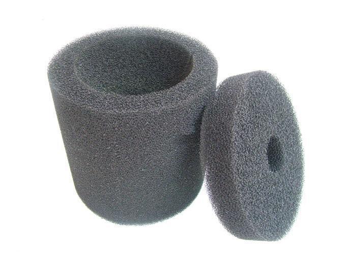 auto drain air filter/Cylindrical filter element sponge/coarse filter sponge/polyester filter