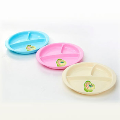 Baby Oval separated dinner Plates