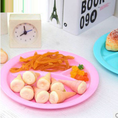 Round Baby partition dinner Plates