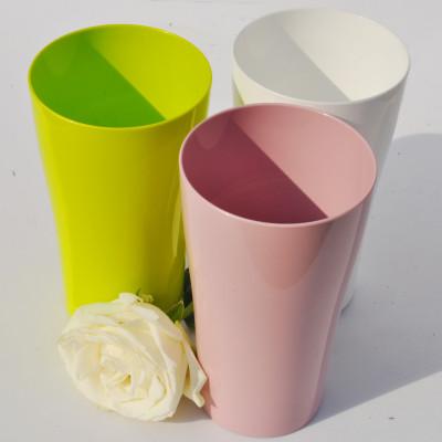 Streight Tumbler 500ml PLA juice glass