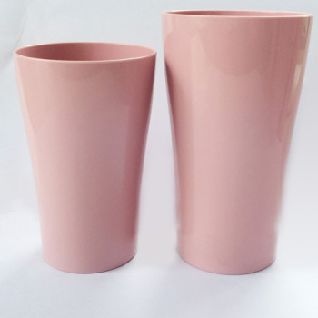 Curved Tumbler 400ml PLA juice glass