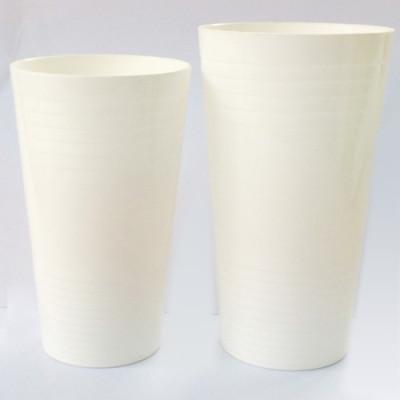 Geometrical Tumbler 400ml PLA juice glass