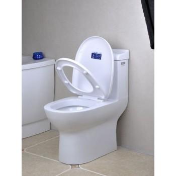 Ceramic hydrocone type quiet one piece  wc toilet