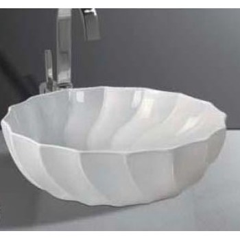 Elegant design bathroom pedestal basin