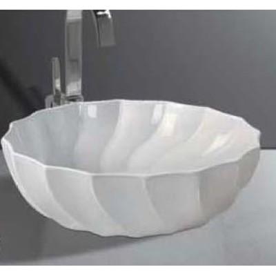 Elegant design bathroom pedestal basin