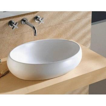 Beautiful wash basin with pedestal oval basin