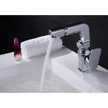 Bathroom accessories single handle shower faucet