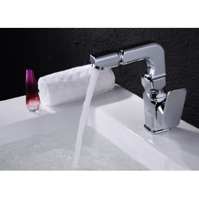 Bathroom accessories single handle shower faucet