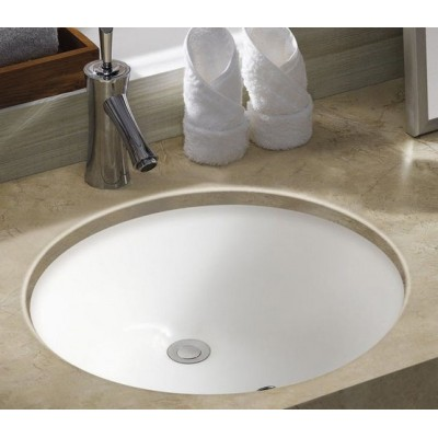 Corner bathroom suites under mount basin
