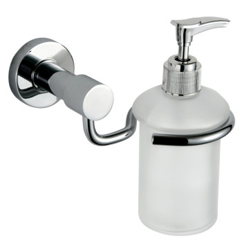 Stainless steel soap dispenser with new design