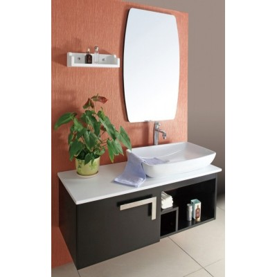 Modern Soild Wood Bathroom Cabinet Wall Hang
