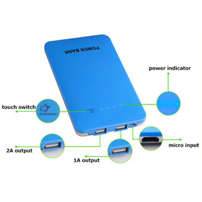 USB Power Bank External Rechargeable Battery Backup Charger 2600mAh For 4s 5 i9500 i9300 cellphone 50pcs/lot Fedex free shipping