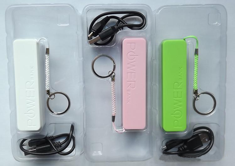 External Battery 2600mAh Emergency Power Bank Charger for IPhone 4 4S 5 5s HTC Various Mobile phone
