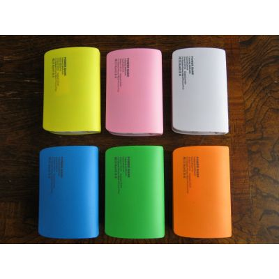Universal Portable Power Bank External Emergency Backup Battery Charger For Mobile Phone S4 iPhone 5S USB LED Indicator