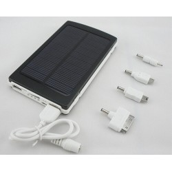 10000mah Solar Power Bank Charger For iphone Mobile Phone Cellphone Samsung HTC