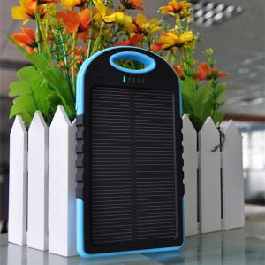 5000mah Solar Power Bank Charger