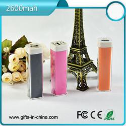 Free samples 1800mah to 2600mah lipstick power bank