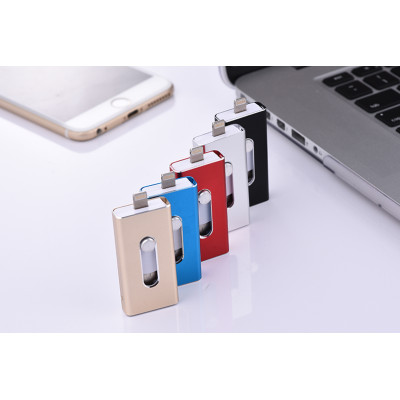 Factory Price High Quality OTG iFlash Pen Drive 8G,16G,32G For iPhone