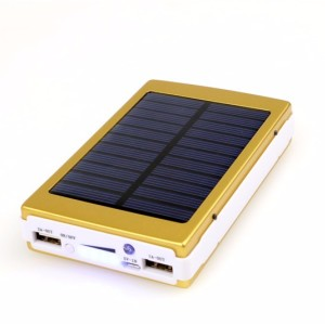 15000mah Portable Solar Power Bank Dual-USB