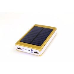 15000mah Portable Solar Power Bank Dual-USB