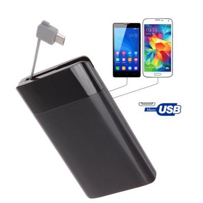 2600 mAh Polymer Pocket Power Bank Ultra Thin Credit Card Power Bank