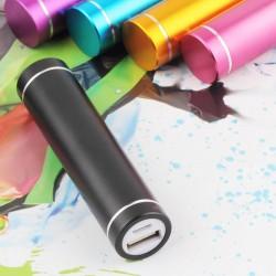 Multicolor USB 5V 1A Power Bank Suit 18650 Battery