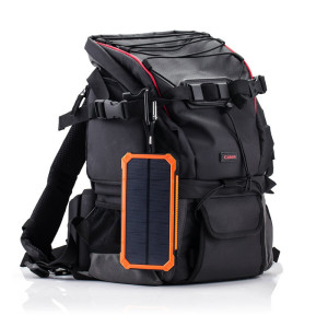 30000mAh Solar Power Bank Dual USB Mobile Portable Charger Polymer Power bank