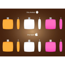 One Time USE Charger Disposable Power Bank for iphone