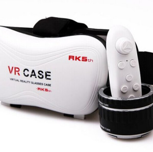 3D Virtual Reality headset With VR Remote Control