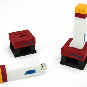 16GB PVC USB Flash Drive