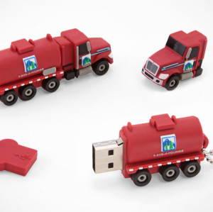 PVC Promotional USB Flash Memory