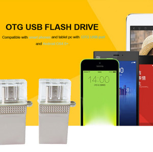 32GB OTG USB Flash Drive For Promotional Gift