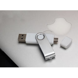 Swivel USB2.0 Flash Drive for Mobile phone