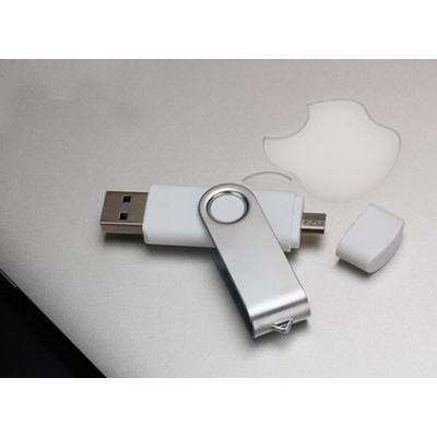 Swivel USB2.0 Flash Drive for Mobile phone