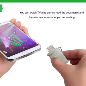 Hot OTG Portable USB Flash Drive For Smart Phone & Computer & Tablet PC