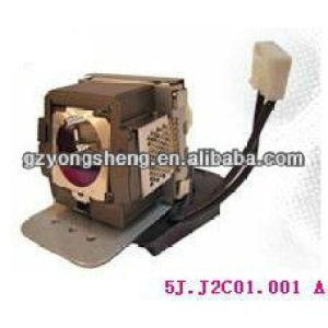 5j. J2c01.001 lámpara del proyector benq para con una excelente calidad