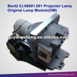 Lámpara del proyector original 5j. Para 06001.001 mp612