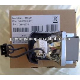 Benq mp511 lámpara del proyector 5j. 08001.001
